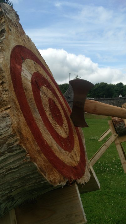 Galway Axe Throwing Single